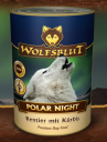 Karma mokra WOLFSBLUT Polar Night 395 g (renifer, dynia)