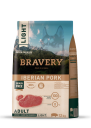 Karma dla psa Bravery Iberian Pork LIGHT Medium/Large Breeds 12 kg GRAIN FREE (świnia iberyjska)