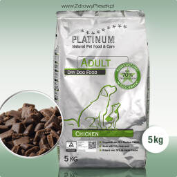 Karma dla psa Platinum Adult Chicken