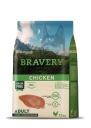 Karma dla psa Bravery Chicken Adult Medium/Large Breeds 12 kg + 4 kg GRATIS! GRAIN FREE (kurczak)