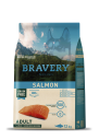 Karma dla psa Bravery Salmon Adult Medium/Large Breeds 12 kg GRAIN FREE (łosoś)
